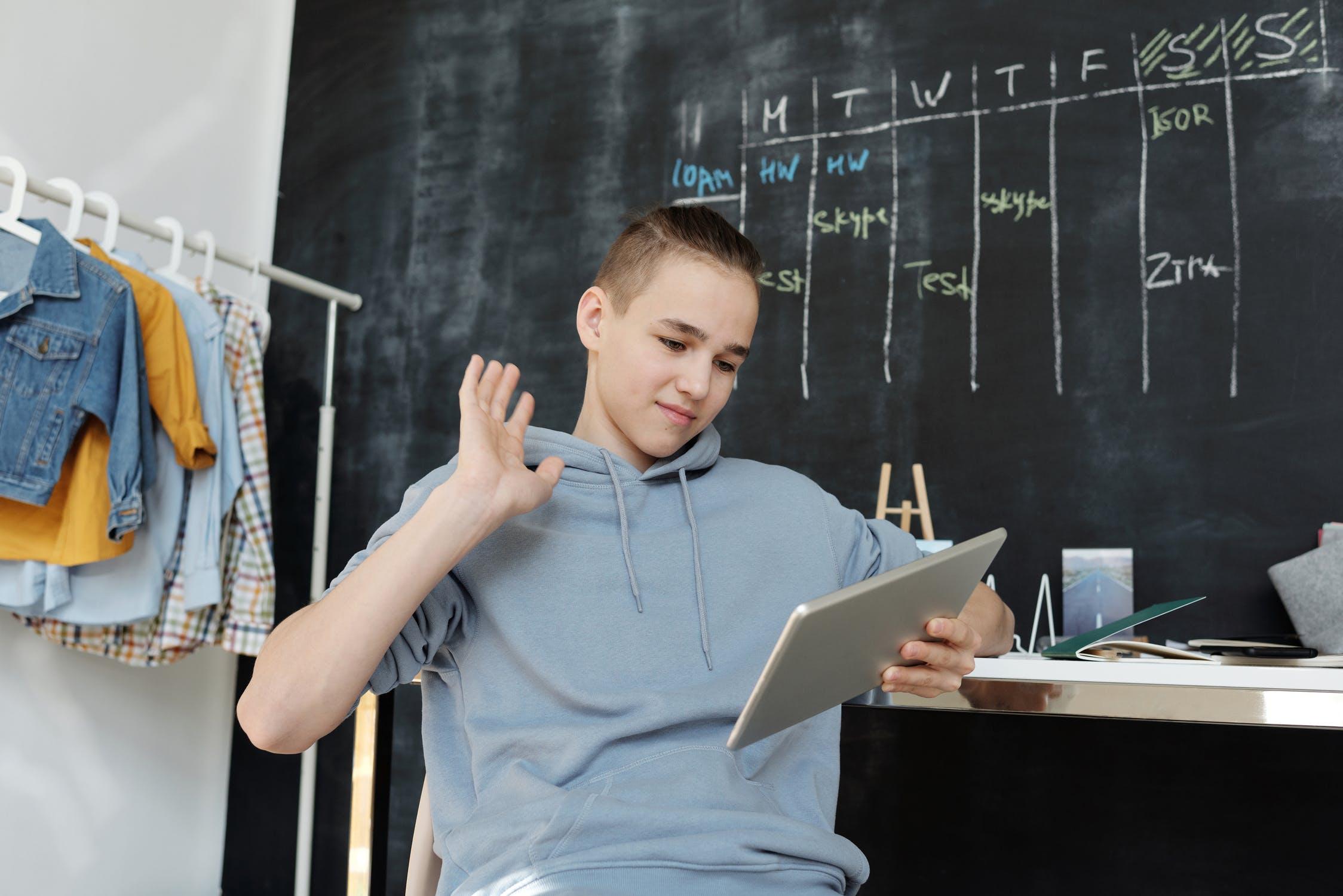 Mokymasis namie, Julia M Cameron/ pexels.com nuotr.